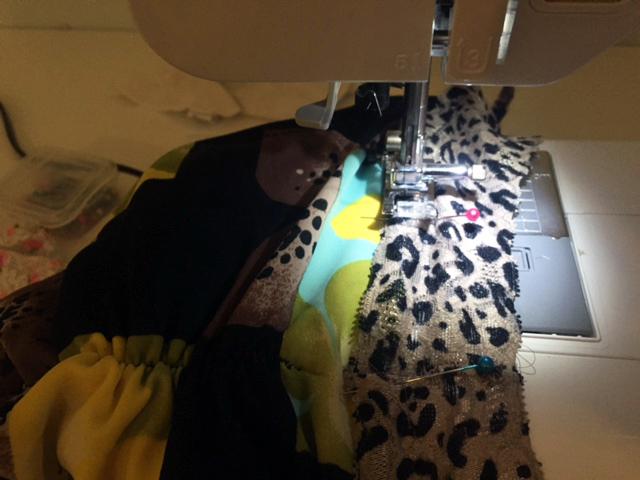 bathing suit sewing zig zag